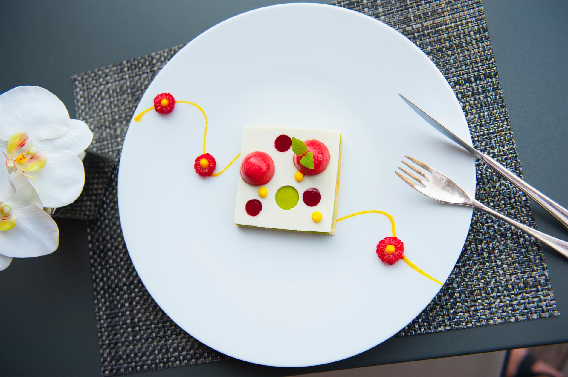 Plat restaurant Le Jeu de Paume - Hôtel Parc Beaumont, offres spéciales