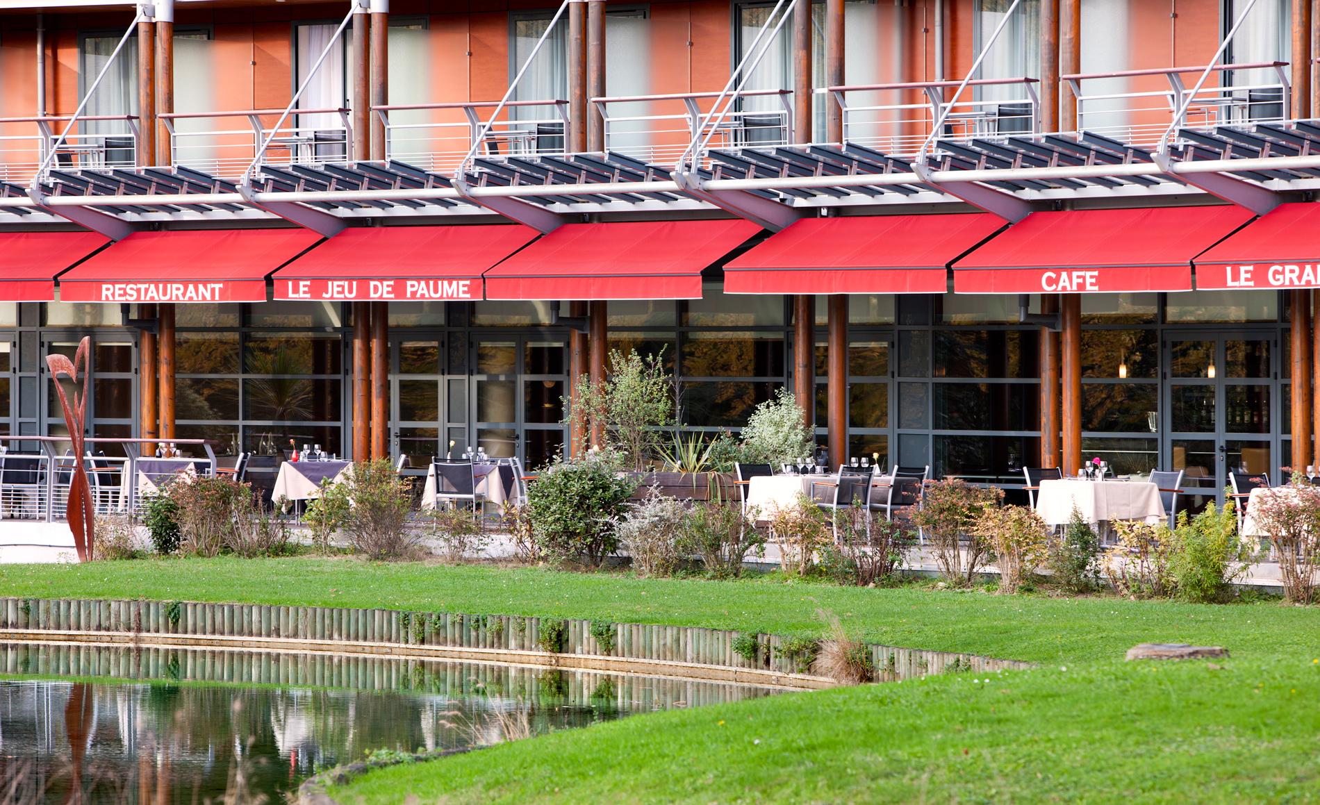 Restaurant gastronomique Le Jeu de Paume - Hôtel Parc Beaumont, Pau