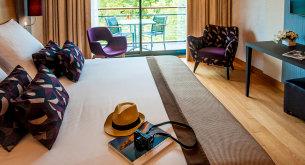 Chambre supérieure côté parc - Hôtel Beaumont, Pau